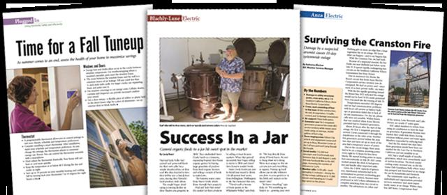 Inside the Magazine: September