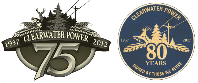 Comparison of two Clearwater Power logos